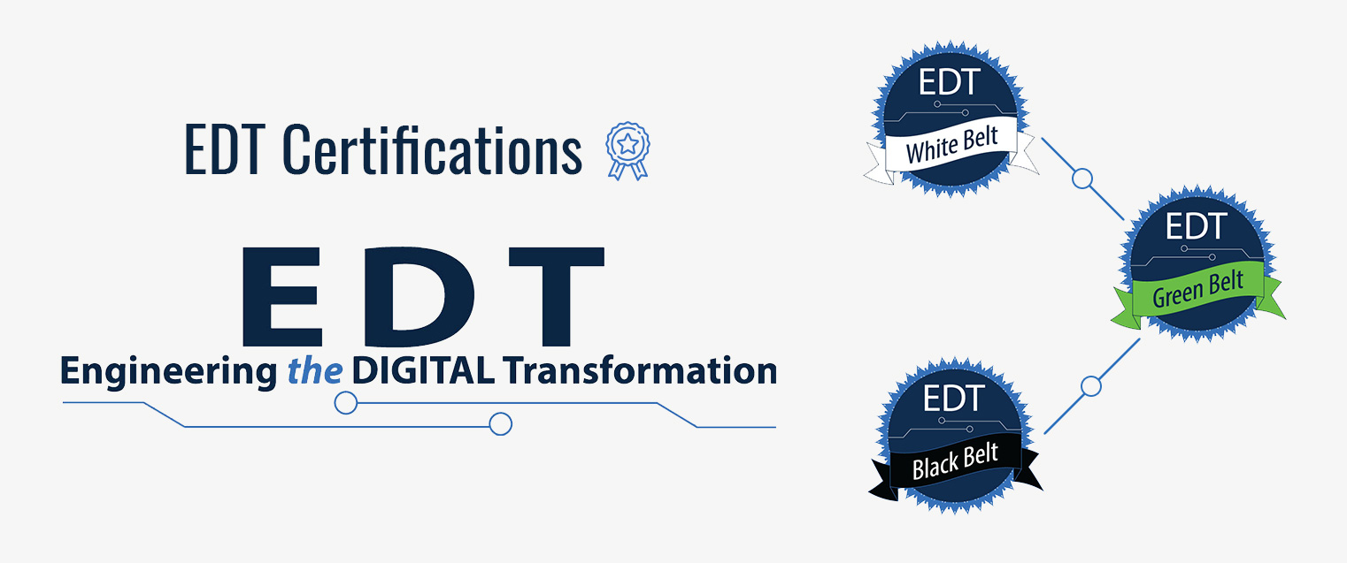 Engineering the Digital Transformation-Certifications