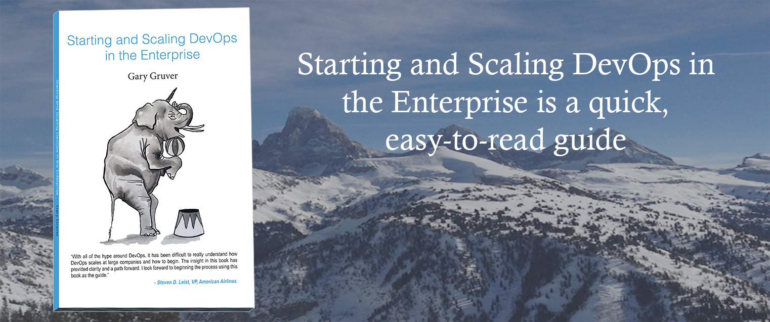 Starting and Scaling DevOps in the Enterprise
